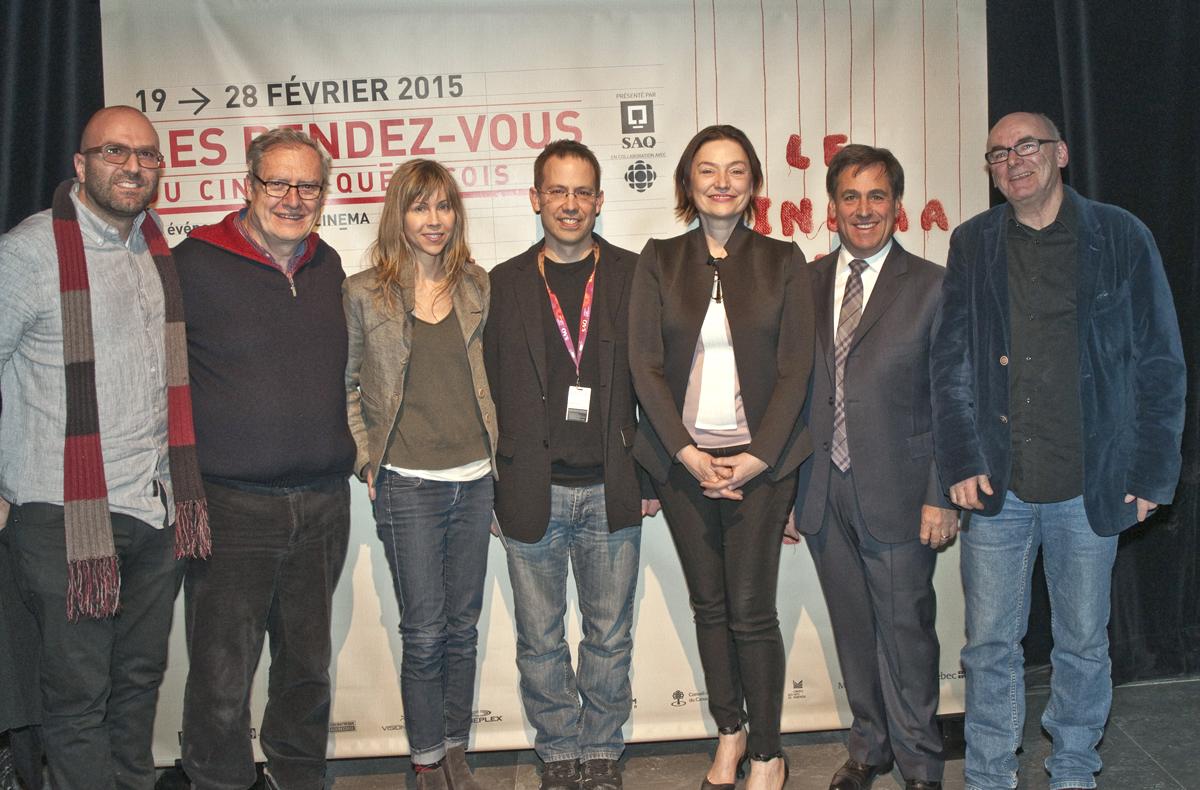 Québec Cinéma dévoile les lauréats de sa 33e édition des RVCQ