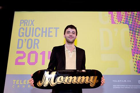 Le Guichet d'or 2014 à Xavier Dolan - Téléfilm Canada