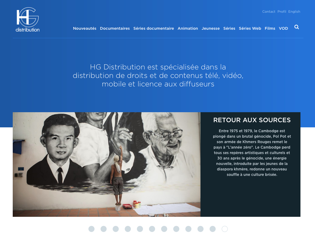 HG Distribution lance son nouveau site internet