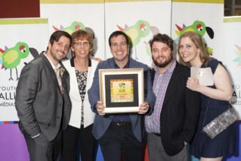 Alliance Médias Jeunesse, prix d'excellence 2015