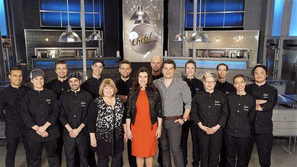 LES CHEFS!  ̶ LA BRIGADE à ICI Radio-Canada Télé