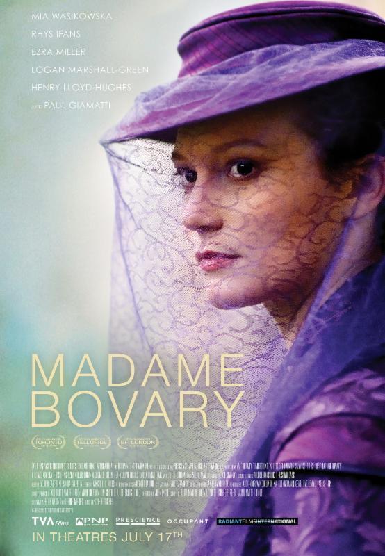 MADAME BOVARY, en salles le vendredi 17 juillet 2015
