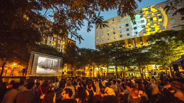 RIDM en plein air : projections extérieures gratuites tout l'été !