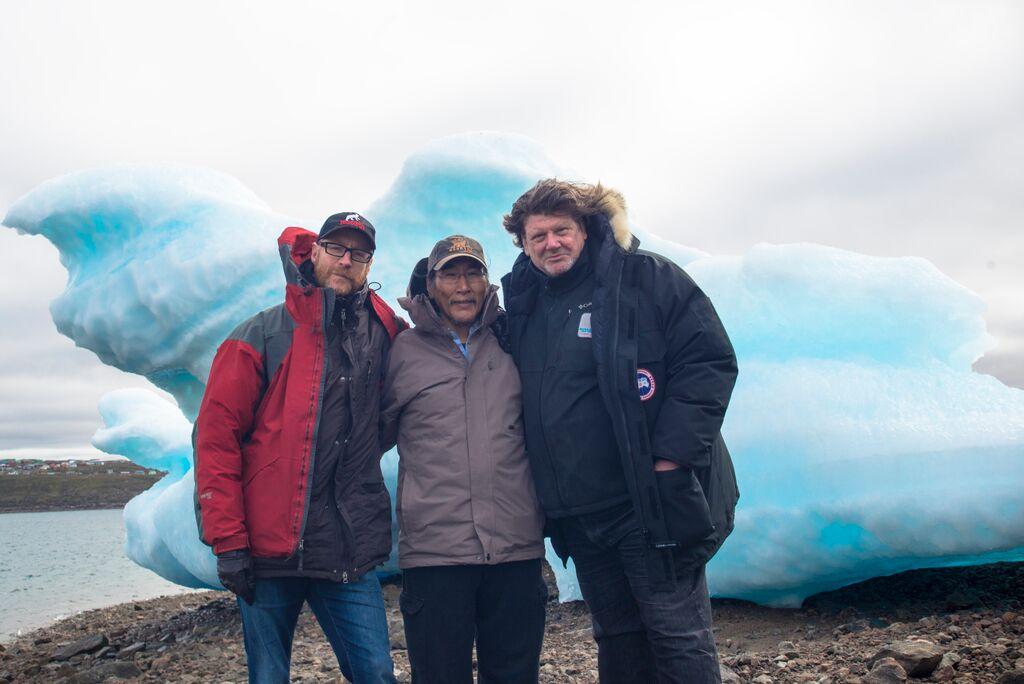 Iqaluit de Benoit Pilon, premier jour de tournage
