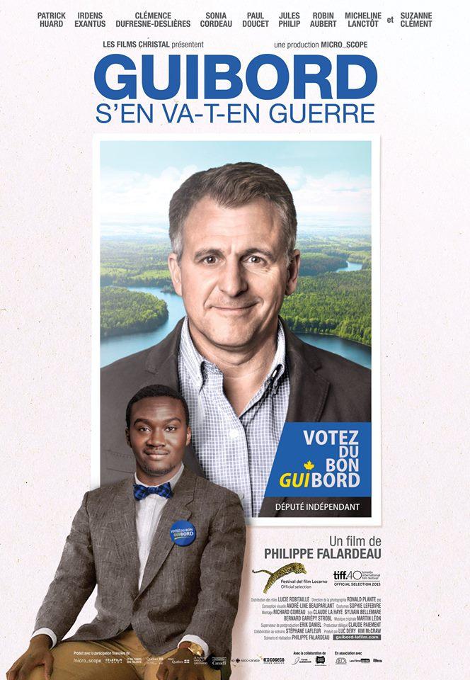 GUIBORD S'EN VA-T-EN GUERRE à l'affiche le 2 octobre à Montréal et Québec