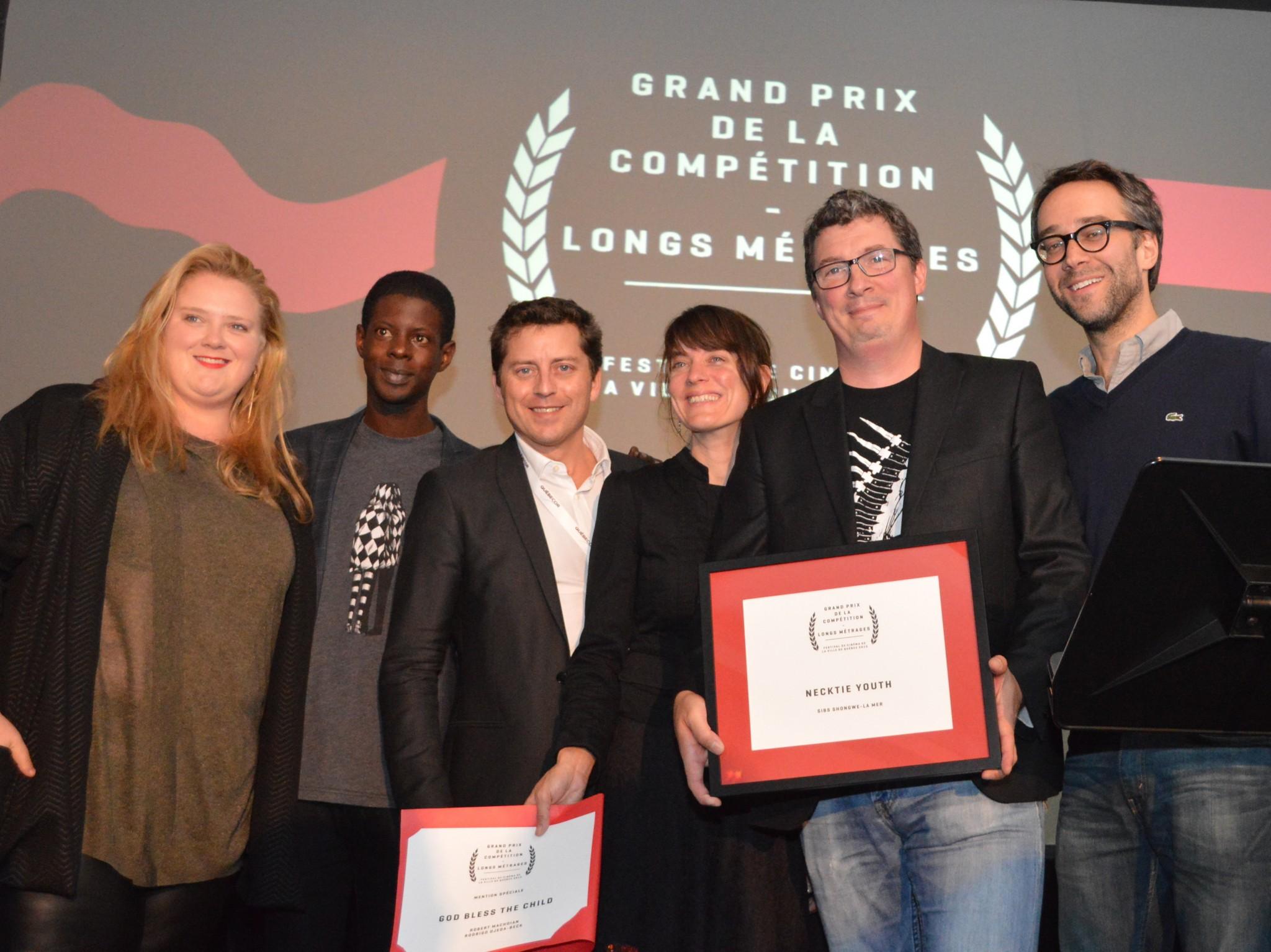 Le 5e Festival de cinéma de la ville de Québec remet ses Prix