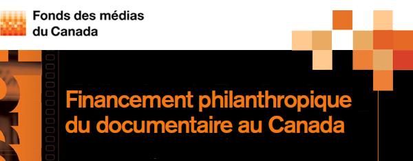 Rapport financement philanthropique documentaire