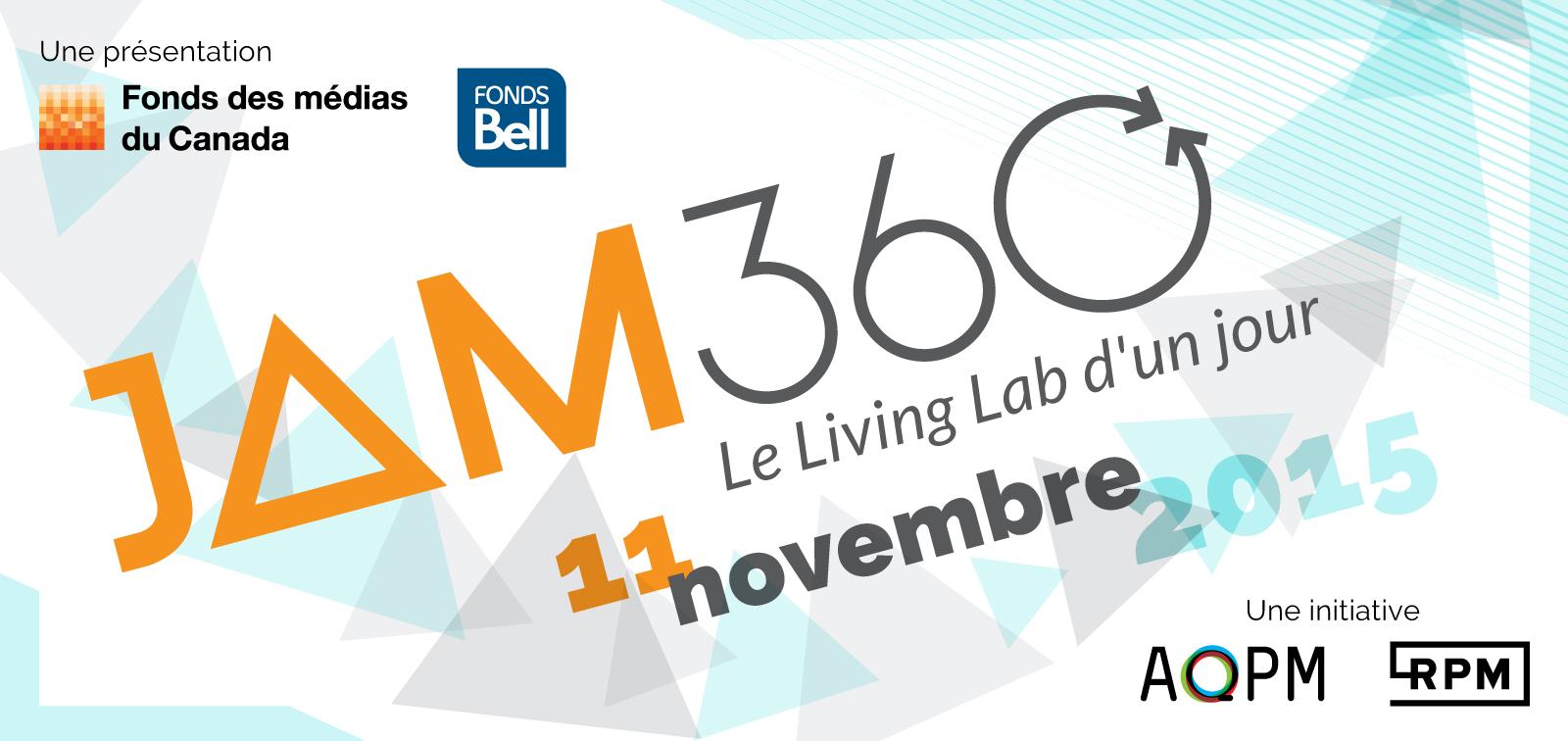 L'AQPM et le RPM vous invitent au JAM 360°.