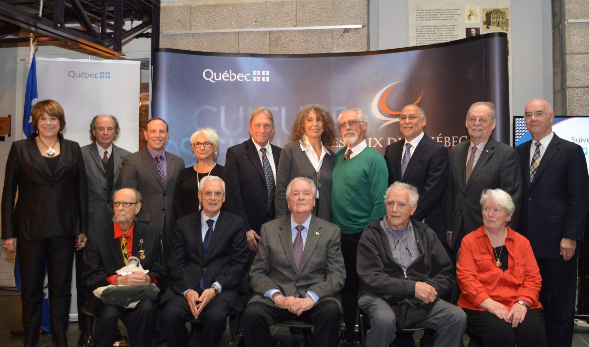 Jean Bissonnette et Martin Duckworth - Prix du Québec