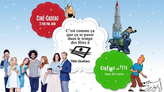 Le temps des Fêtes à Télé-Québec