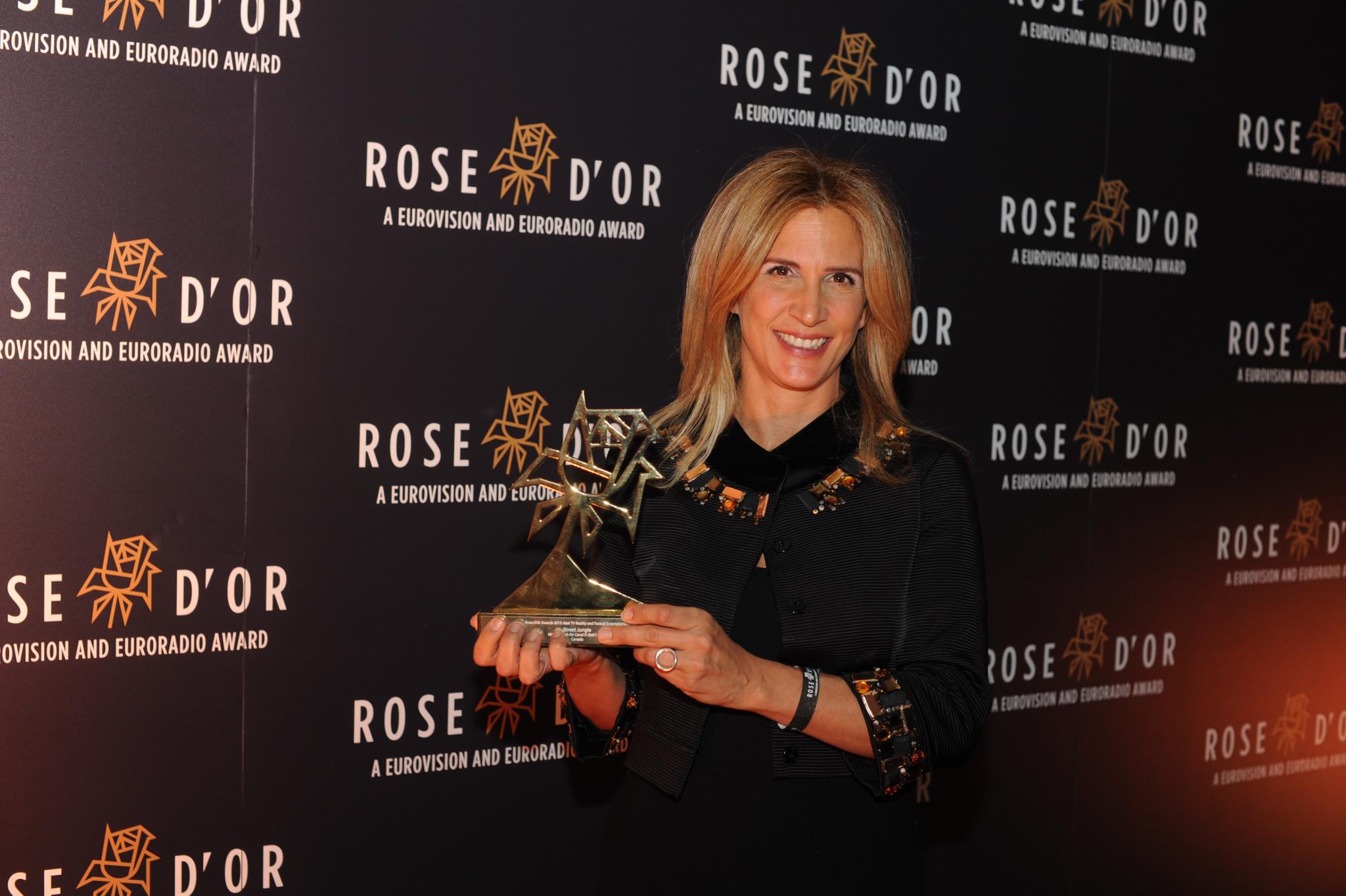 Parcomètre blues décoiffe une émission de la BBC aux Rose d'or Awards