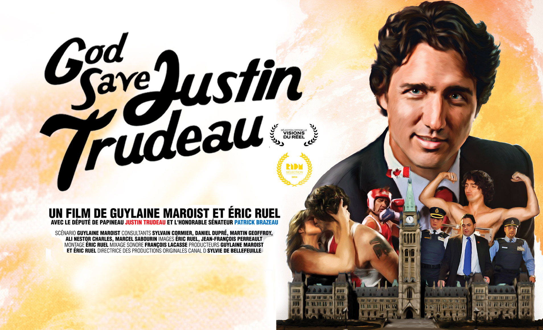 Le documentaire God Save Justin Trudeau à la RTS