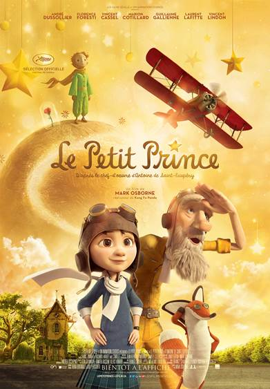 LE PETIT PRINCE à l'affiche au Québec dès le 12 février 2016