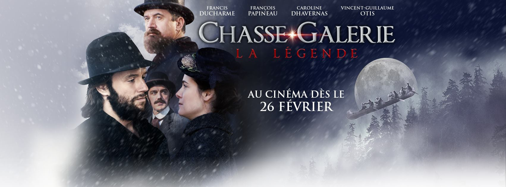 La Chasse-Galerie: la légende à l'affiche au Québec dès le 26 février