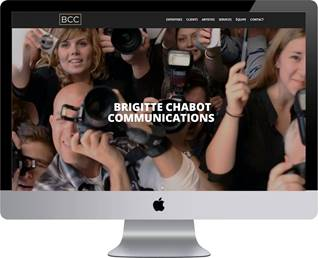 Brigitte Chabot Communications dévoile un nouveau site web