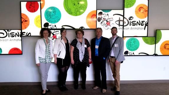Le BCTQ, une première mission Animation à Los Angeles
