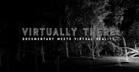 VIRTUALLY THERE, une conférence au MIT sur la réalité virtuelle