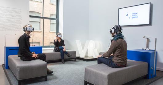 Nouvelles oeuvres au Jardin de réalité virtuelle du Centre PHI