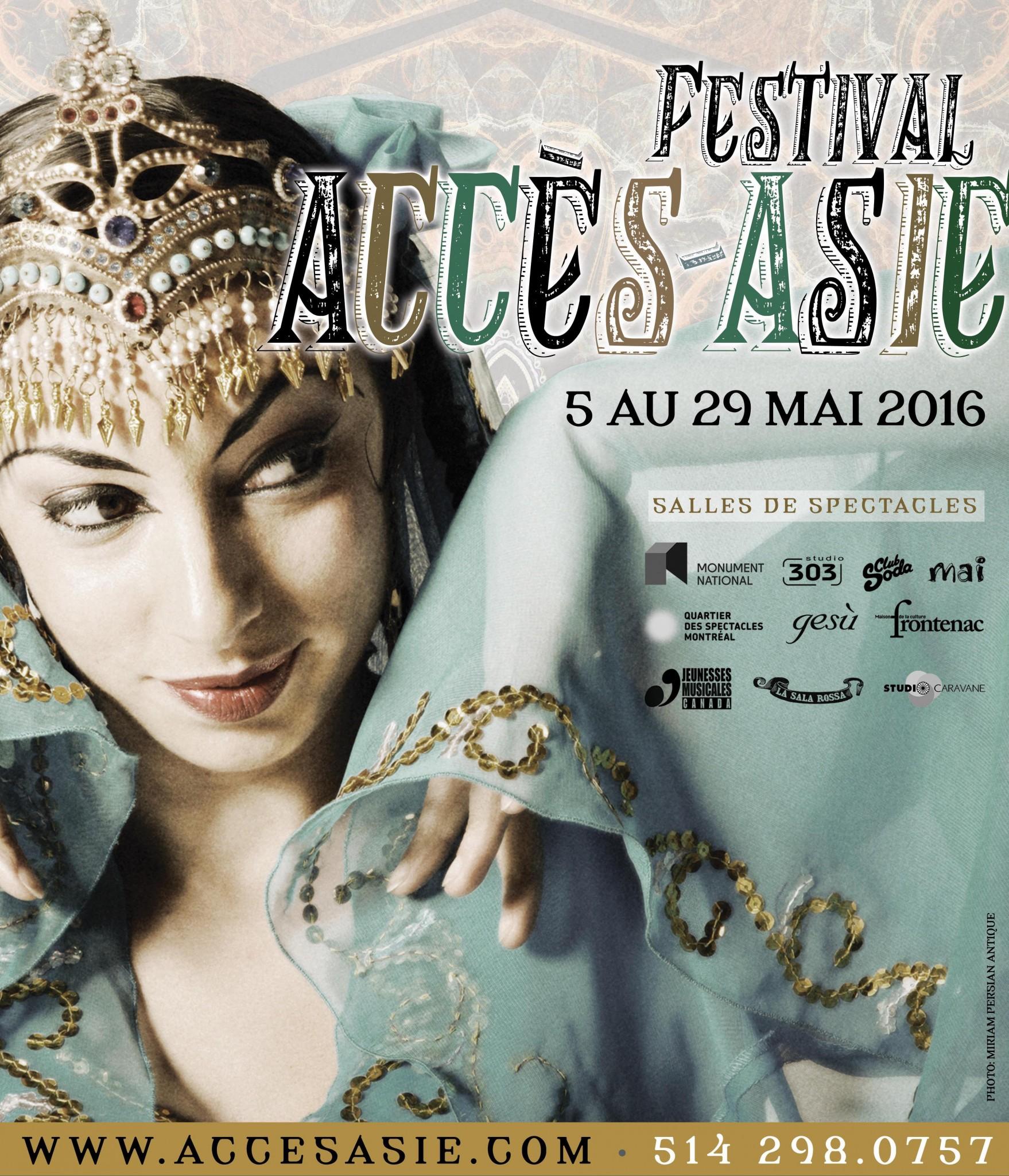 Festival Accès Asie durant tout le mois de mai