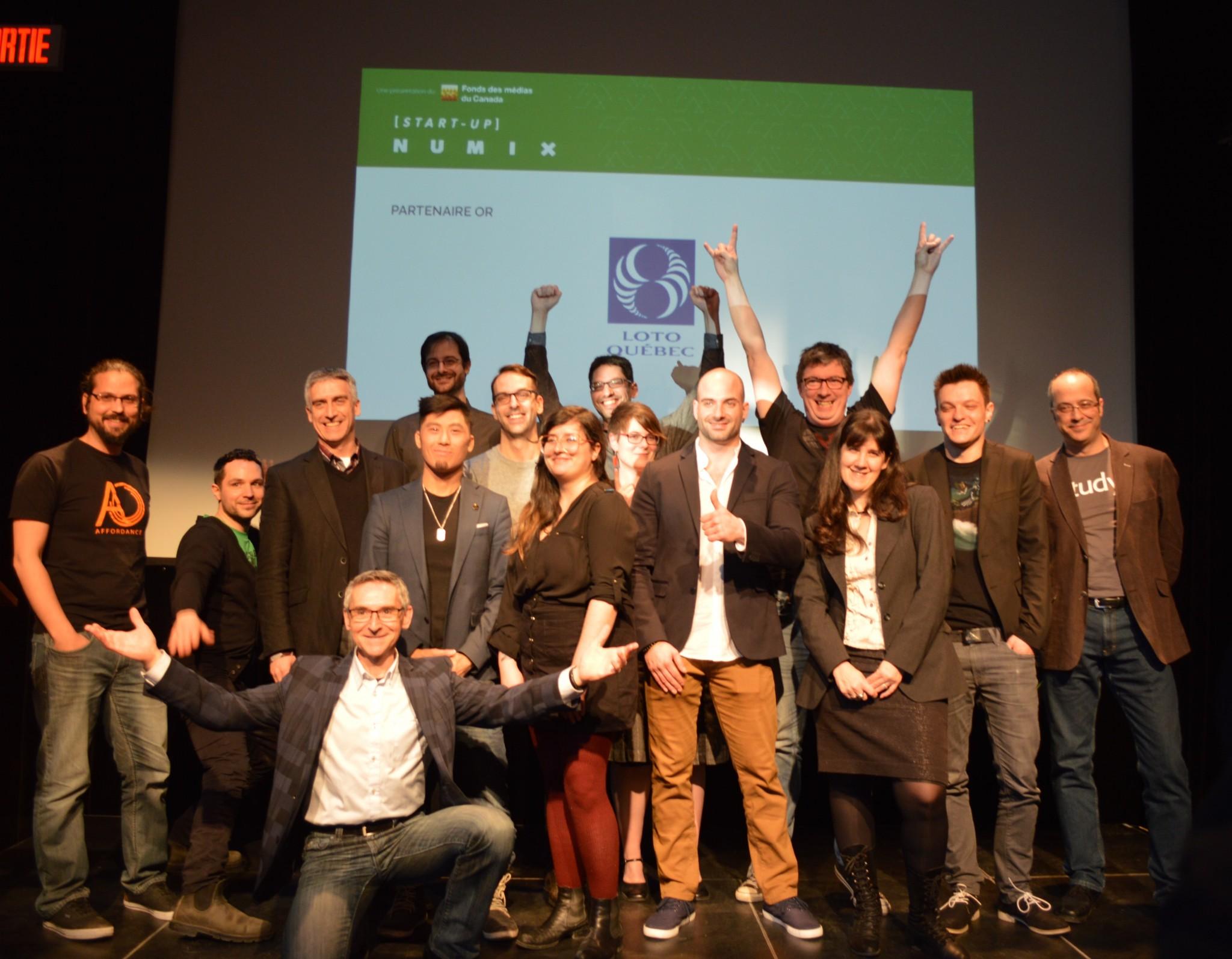 Dévoilement des finalistes START-UP NUMIX 2016, 2e édition
