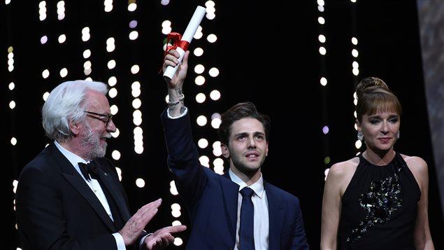 Félicitations à Xavier Dolan de l'Académie canadienne du cinéma et de la télévision au Québec