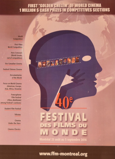 Annonce du Festival des films du monde au Festival de Cannes