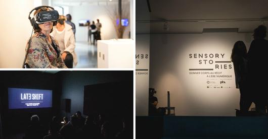 Centre Phi, exposition Sensory Story