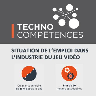 TECHNOCompétences, profil de l'industrie du jeu vidéo 2016