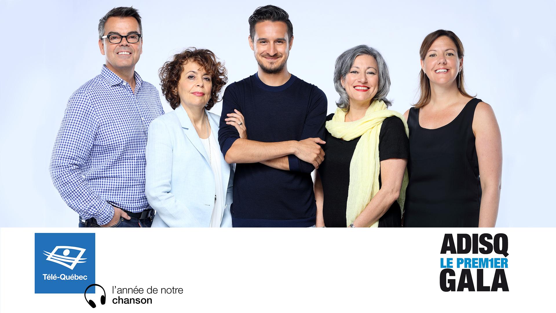 L'ADISQ s'associe à Télé-Québec