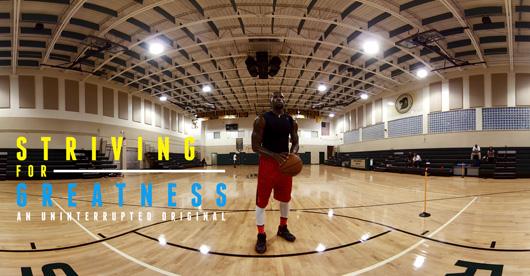 Centre PHI, vivez l'entraînement d'avant-saison de l'étoile de la NBA