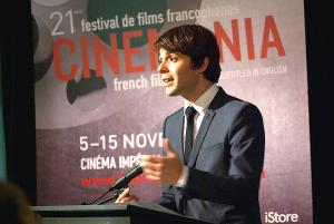 Guilhem Caillard, directeur général, CINEMANIA