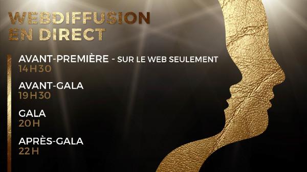 Prix Gémeaux - Liste des lauréats de l'avant-première