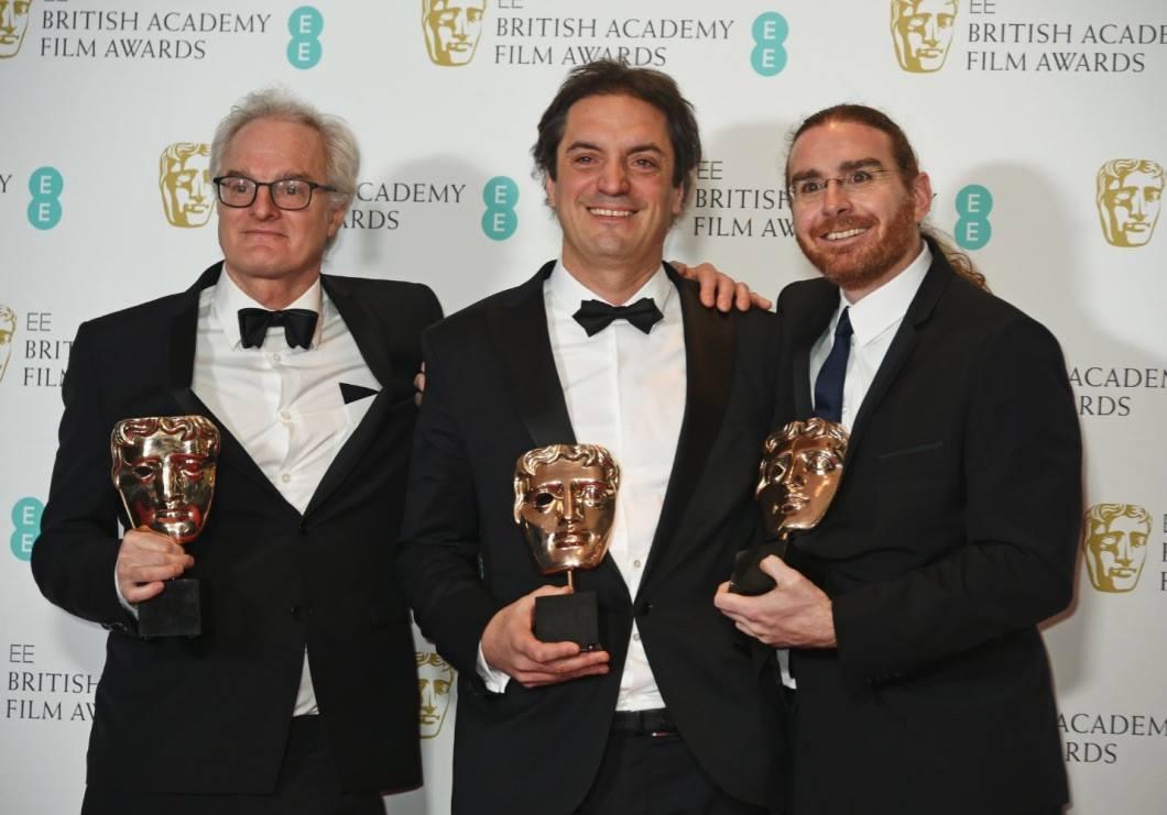 MELS félicite les artisans de ARRIVAL qui remporte le prix du meilleur son au BAFTA