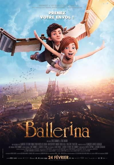 BALLERINA prendra l'affiche au Québec le 24 février 2017