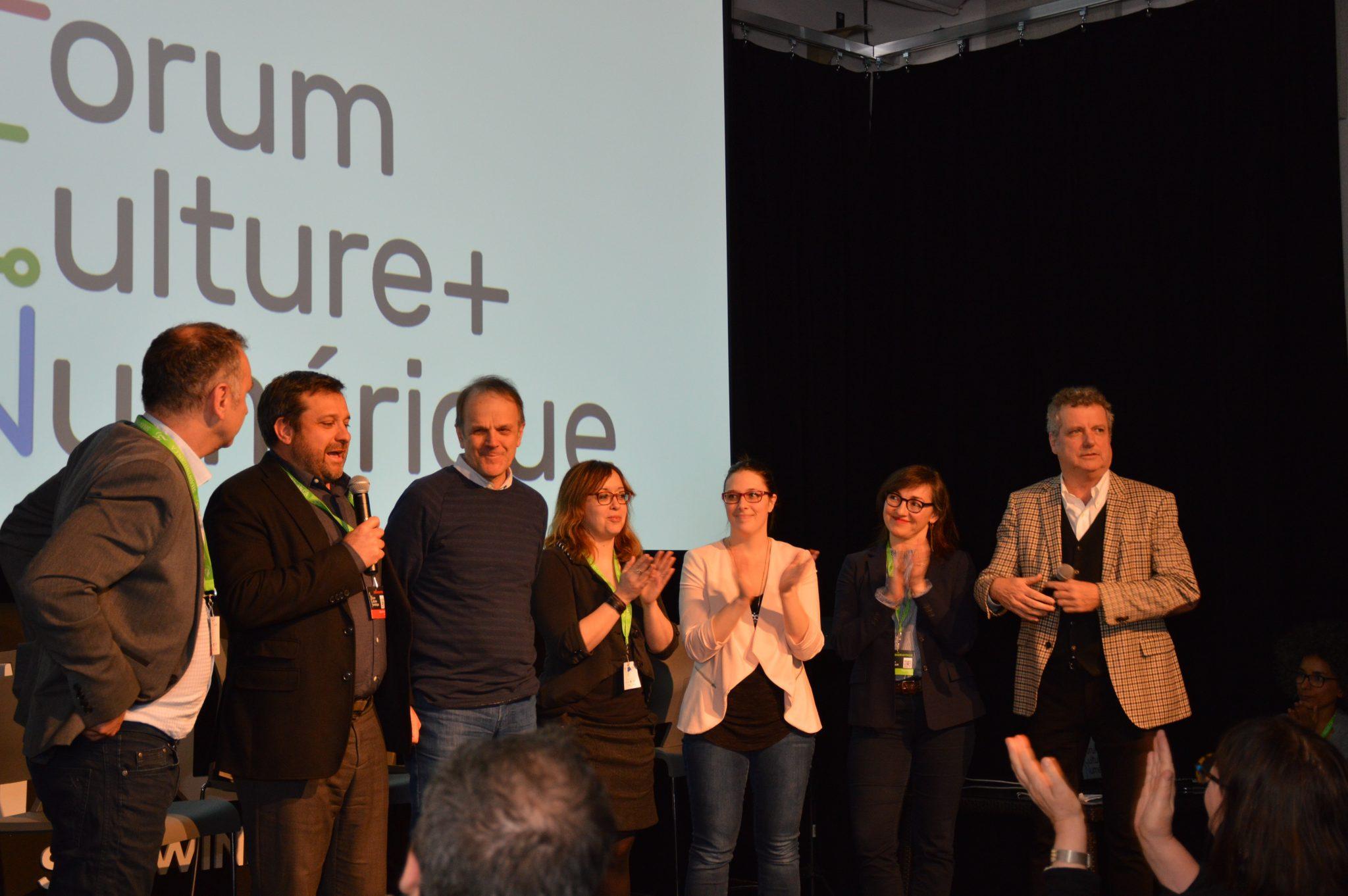 Franc succès du Forum Culture + Numérique, première édition