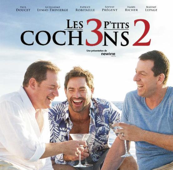 Les 3 P'tits Cochons 2 recevra le prix Écran d'or Cineplex 2016
