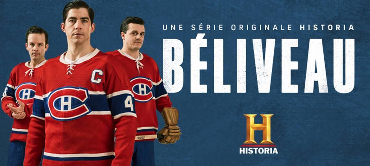 Béliveau : dès le 22 mars sur Historia !