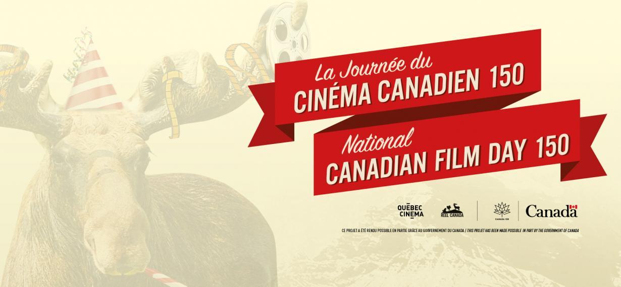 Québec Cinéma participe à la Journée du cinéma canadien 150