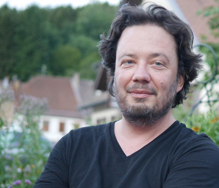 Étienne Jaxel-Truer de EJT-labo aux Rendez-vous d'affaires et de coproduction France-Canada