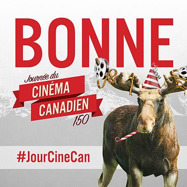 Carolle Brabant à l'occasion de la Journée du cinéma canadien 150