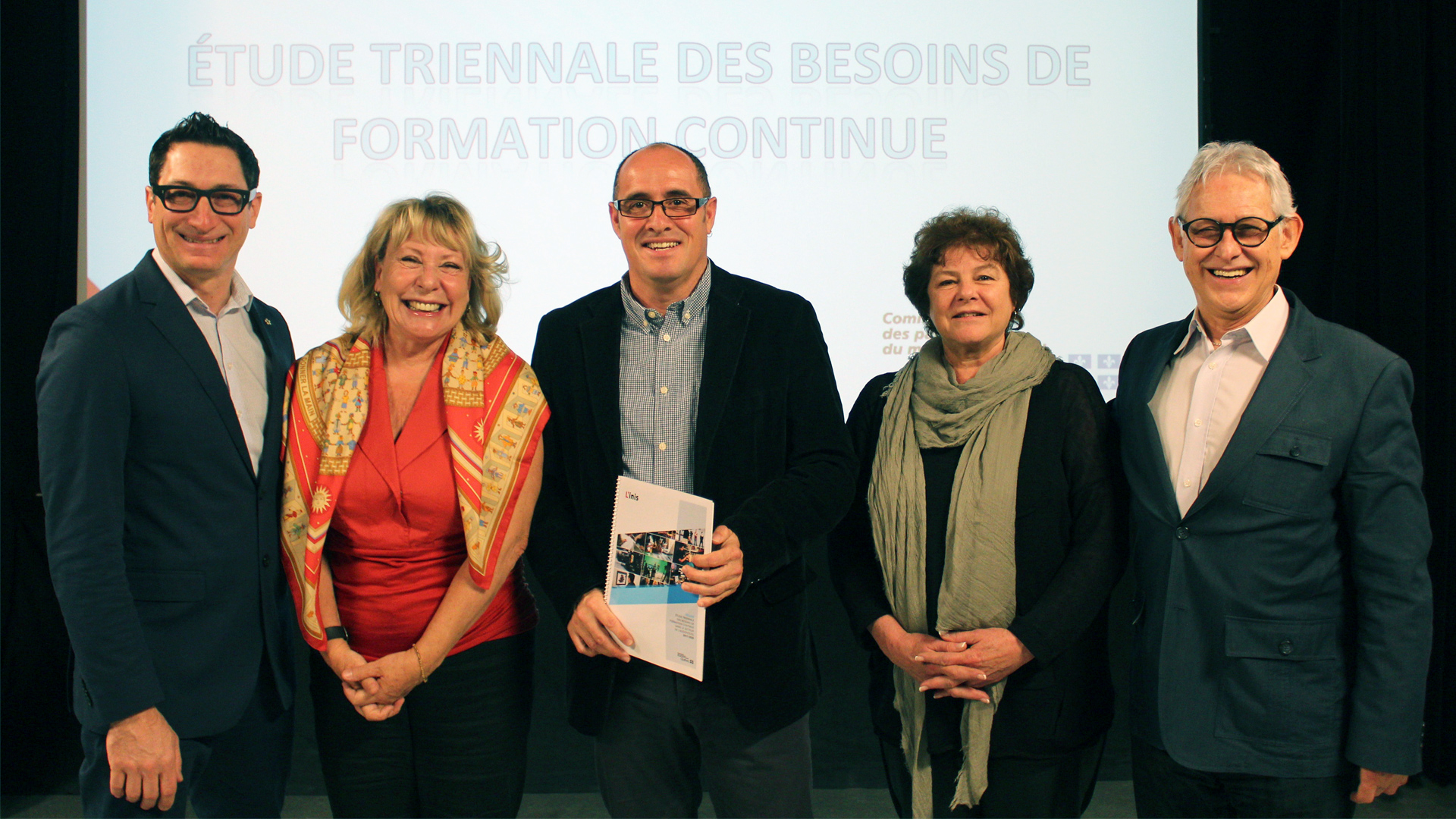 L'inis dévoile l'Étude triennale des besoins de formation continue  dans le secteur de l'audiovisuel 2017-2020