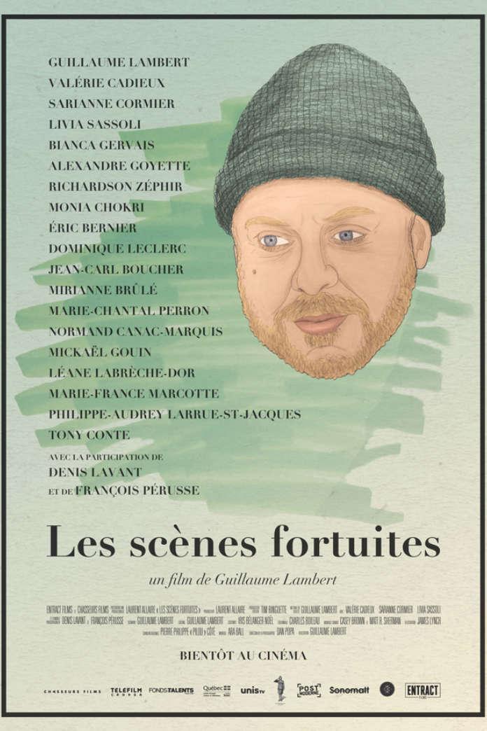 LES SCÈNES FORTUITES de Guillaume Lambert à l'affiche le 26 janvier 2018