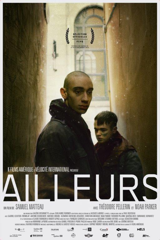 AILLEURS, un film tourné à Québec en vedette au FCVQ 2017