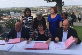 Signature d'une convention entre la SODEC, le CNC et la région Nouvelle-Aquitaine