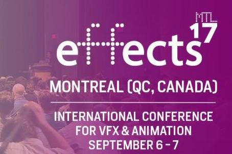 effects MTL17 - Annonce des classes de maître + nouvelles conférences