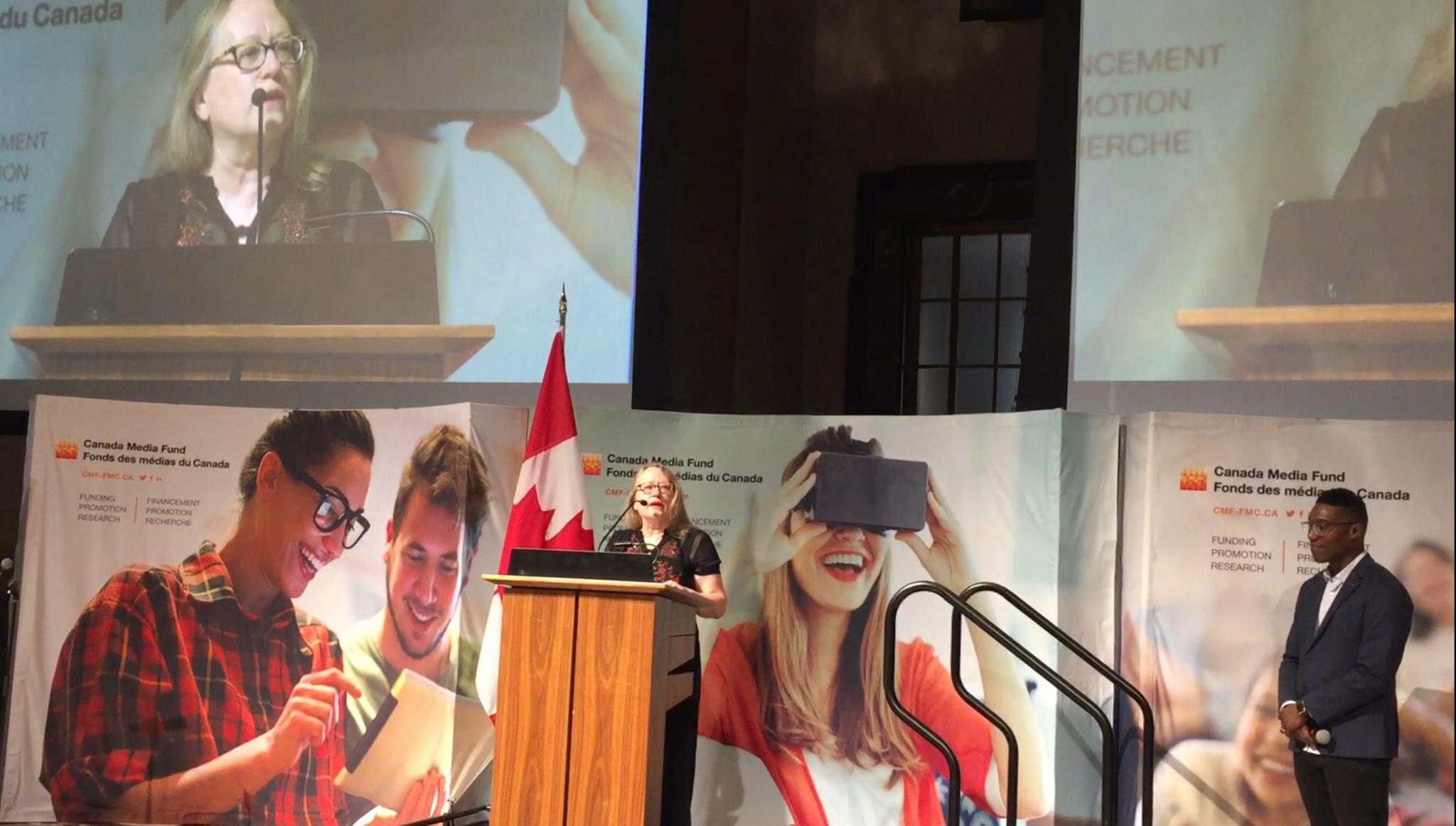 Le Fonds des médias du Canada présente le talent et le contenu canadiens sur la Colline du Parlement