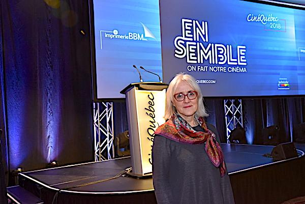 À Ciné Québec, Carolle Brabant annonce un programme d'aide à la diffusion en salles