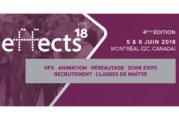 effectsMTL18 : réunir la communauté des effets visuels et de l'animation