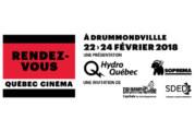 La première édition des Rendez-vous Québec Cinéma à Drummondville