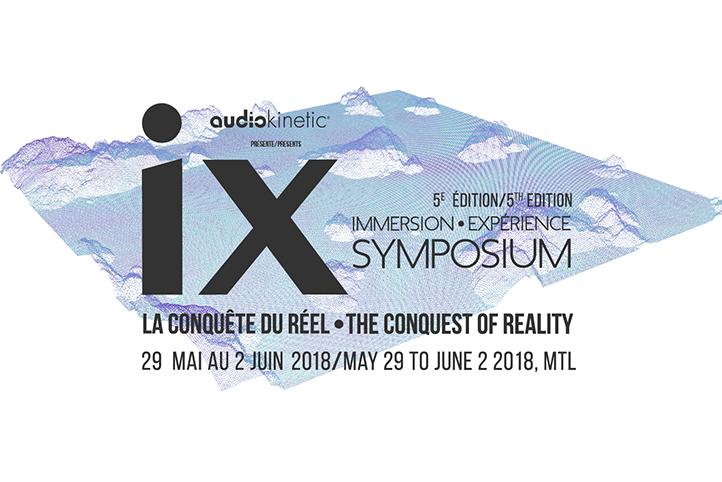 5esymposium iX 2018: les conférenciers d'ouverture annoncés!
